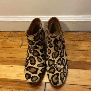 Sam Edelman petty leopard boots